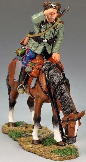 King & Land Ww2 Deutsche Deutsche Deutsche Armee Ws144 Berittener Kosaken Scout MIB 461177