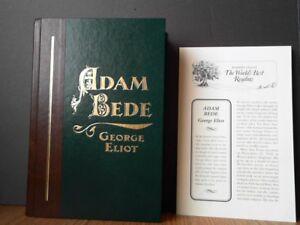 ADAM BEDE by Eliot READER'S DIGEST WORLD'S BEST READING 2010 No Insert Antyki i Sztuka
