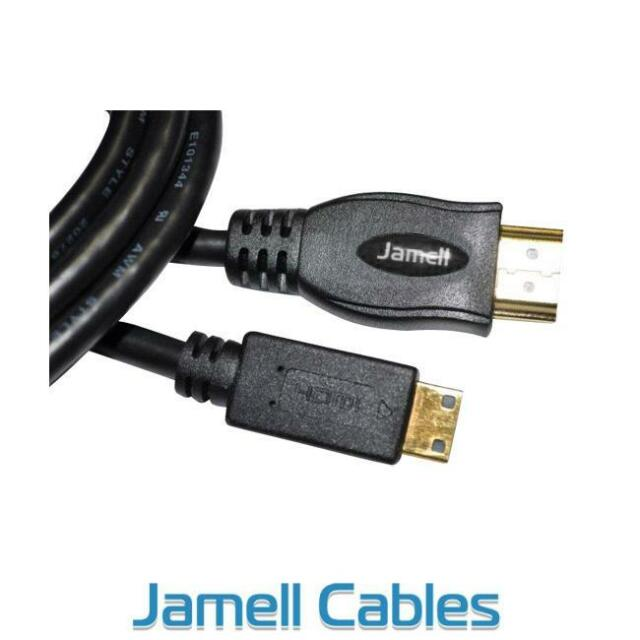 2m Mini HDMI Type C to HDMI Type A Cable