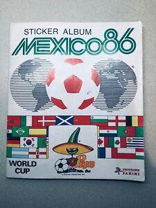 Panini Mexico 86 World Cup Sticker Album. 100% full, good condition