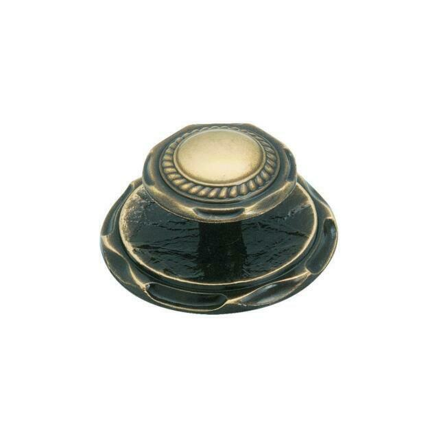 6-Amerock Carriage House Antique English Cabinet Door Knob /& Backplate BP778-AE