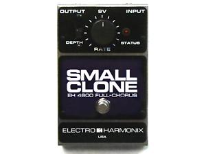 Used Electro-Harmonix EHX Small Clone Analog Chorus Guitar Effects Pedal