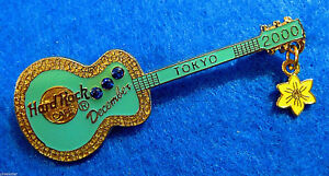 Tokyo-Circonita-Azul-amp-Narciso-Flor-Cumpleanos-Gibson-Guitarra-Hard-Rock-Cafe