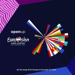 Eurovision Song Contest 2021 - Various Artists [CD] Sent Sameday*