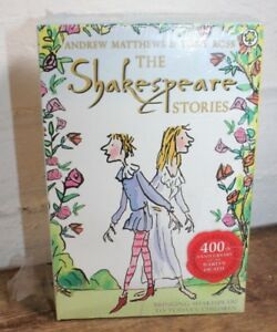 Shakespeare-Children-039-s-Stories-16-Books-Box-Complete-Collection-400-Anniversary