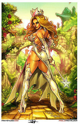 GRIMM FAIRY TALES  - OZ SIGNATURE EDITION ART PRINT By PAOLO PANTALENA