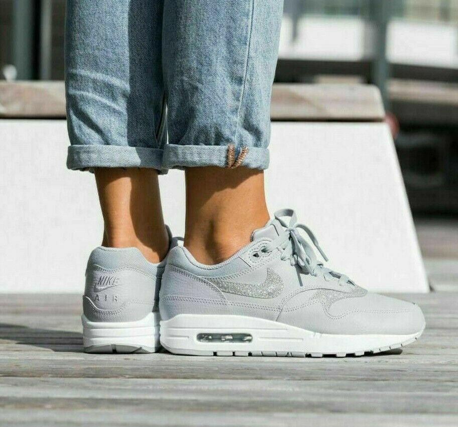 Nike Air Max 1 SE Wolf Grey Platinum UK