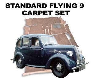 Standard-Flying-9-Carpet-set-1937-1940-Superior-Deep-Pile-Latex-Backed