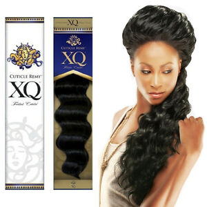 Image Is Loading Cuticle Xq Remy 100 Human Hair Curl Weaving