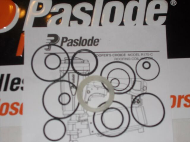 Paslode R175CR Roofing Coil Nailer # 501245 O-Ring Kit Cylinder Seal 402725
