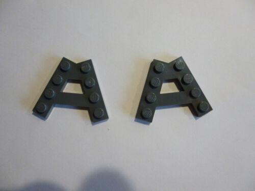 2 x LEGO® 15706 Sondersteine neudunkelgrau neu  wie auf dem Foto.