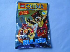 Lego Chima Iceklaw Figur Limited Editon in Polybag Neu