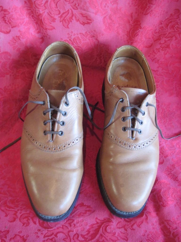 Allen Edmonds Comfort Orthotics Leather Oxfords 75365 2  Size 9 Camel