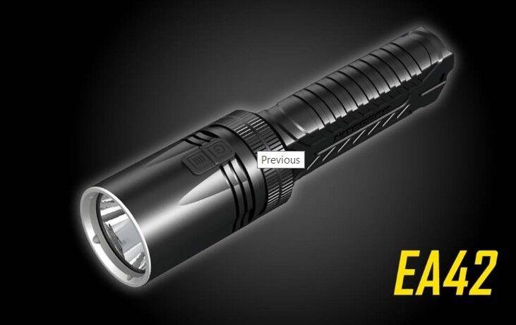Long throw lampe de poche torche de poche Super Bright Spotlight 1800 lm EA42 Cadeau