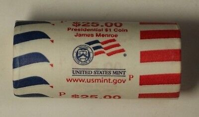 2014-D Herbert Hoover Presidential Dollar Roll BU 25 1$ Coins Bank Wrapped OBW