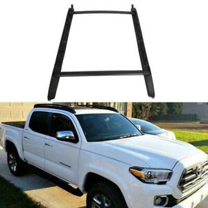 For-05-20-Toyota-Tacoma-Double-Cab-Luggage-Carrier-Roof-Rack-Crossbar-Side-Rails