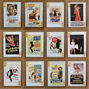 Fridge-Magnet-FB6-Norma-Jeane-As-Marilyn-Monroe-Various-Film-Poster-Covers