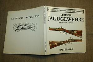 Sammlerbuch-alte-Jagdgewehre-Feuerwaffen-Vorderlader-Buechsenmacher-1984