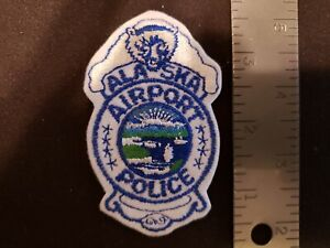 ANCHORAGE ALASKA AK subdued POLICE PATCH