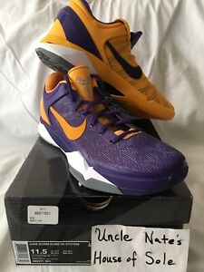 Nike Kobe Zoom VlI 7 2012 'Lakers Yin