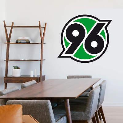 Wandtattoo Hannover 96 Logo Schwarz Fanshop Bundesliga Wandaufkleber Wanddeko Ebay