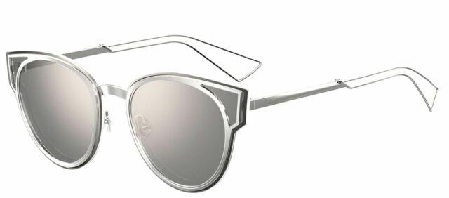3befd41bb9 Christian Dior Sculpt 010dc Palladium Silver Mirror 010 DC Sunglasses  Authentic