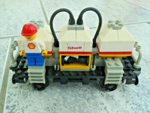Camion-citerne Shell de 12 volts de 12 volts avec remorque de Lego Railway (7813) avec ba