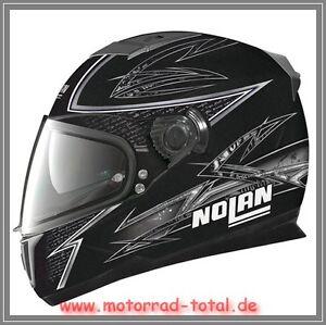 NEW-NOLAN-N86-Beat-Motorrad-Helm-Gr-XL-schwarz-weiss-NEU-Integralhelm