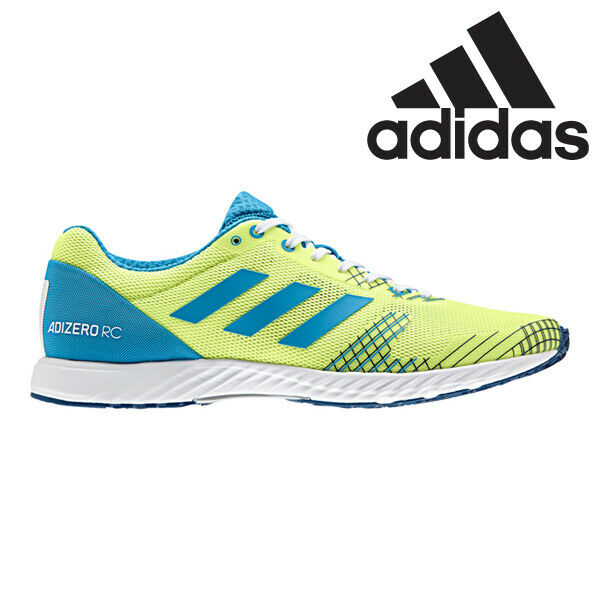 [Adidas] B37393 Adizero RC Men Women Running shoes Sneakers Gree