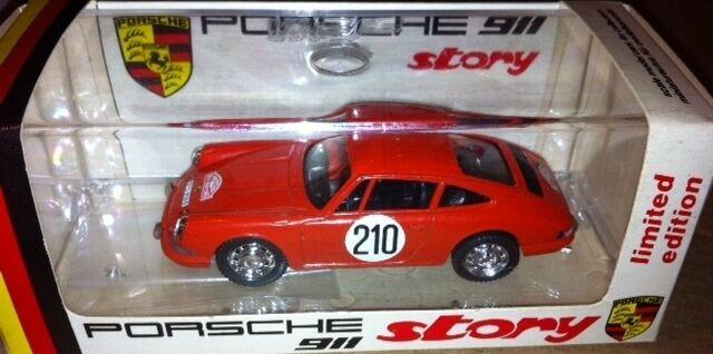 VERY SCARCE VITESSE PORSCHE 911 MONTE CARLO 911 STORY 1 43 LTD EDT