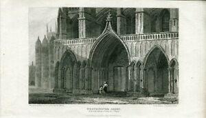 Westminster-Abbey-Engraved-By-H-Hobson-Drew-J-P-Neale