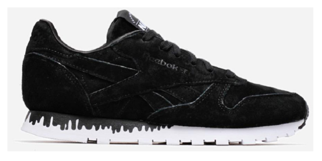 Reebok Classic Leather Naked Ltd 35 44 Rarity Retro Lifestylesneaker EUR 35 Schwarz