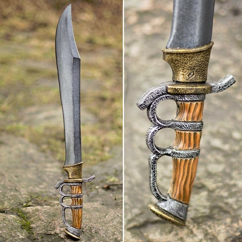 Foam and Latex Bendable Trench Knife, Ideal for Costume or LARP