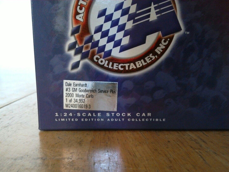 Dale Earnhardt sr GM Goodwrench Service Plus 2000 Monte Carlo Carlo Carlo 1 of 34,992 ef4845