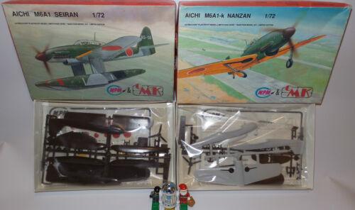 AVIATION M6A1 SEIRAN /& M6A1-K NANZAN 1//72 SCALE MODEL KITS MADE BY MPM