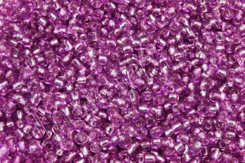 Rocaille M Argent retrait ø 2//3//4mm 100 G perles sélecteur de couleurs perles de verre rp-11