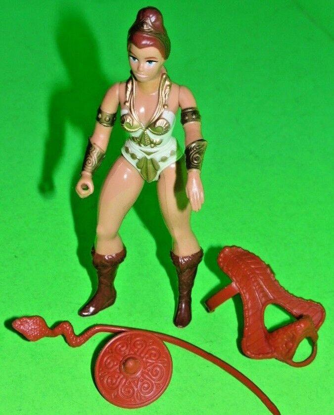 1981 vintage Mattel MOTU HE-MAN Teela Figura completa Masters of the Universe
