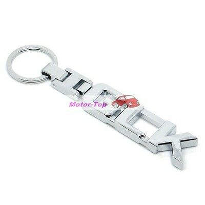 Chrome Metal Keychain Keyring Key Chain Ring For IS F IS300 IS350 Series