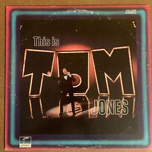 LP Tom Jones This Is Tom Jones 1969 Parrot PAS 71028 Vinyl Record