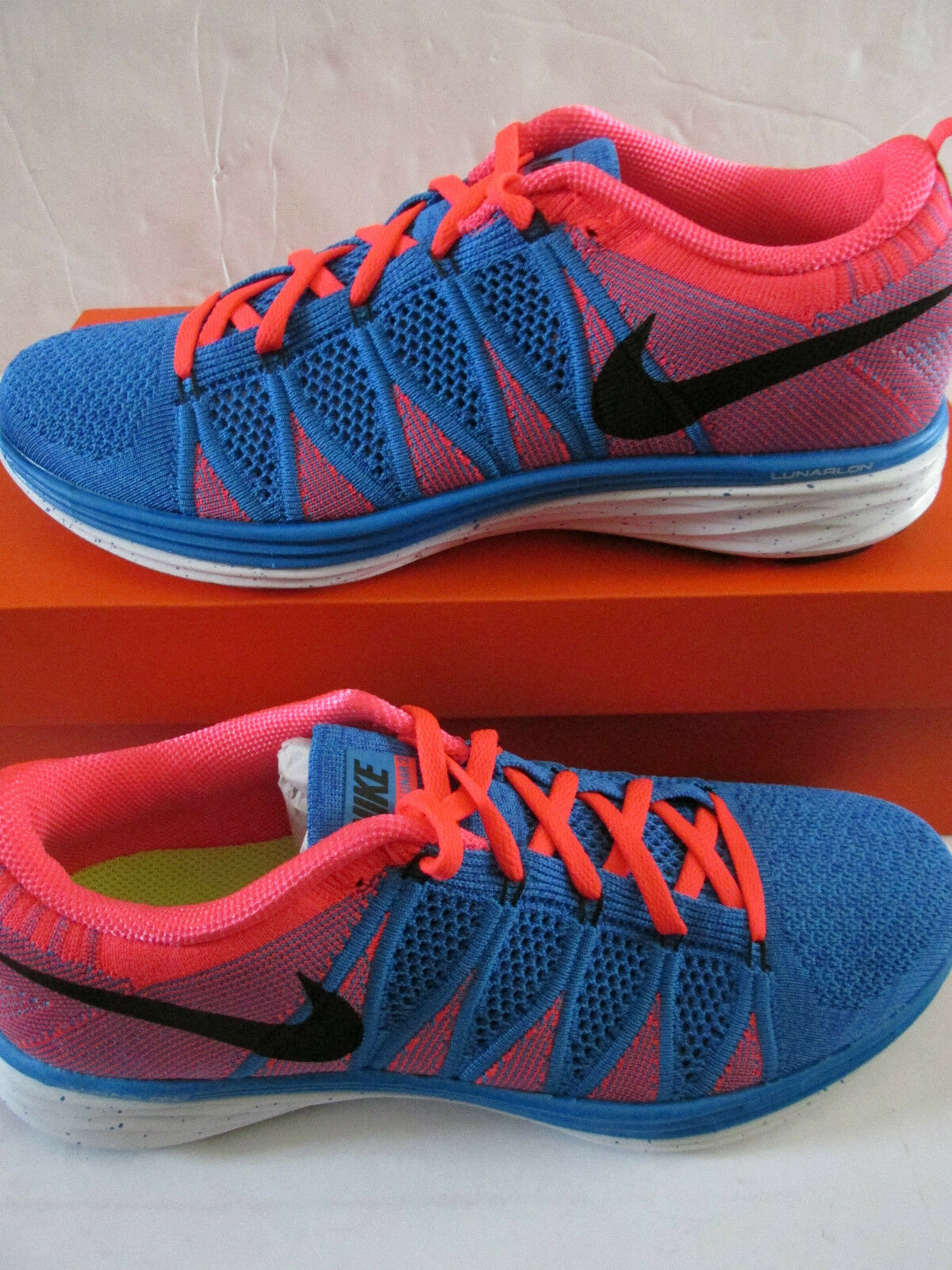 New shoes for men and women, limited time discount nike flyknit lunar2 mens running trainers 620465 402 sneakers shoes
