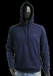 Neu Tommy Hilfiger Herren Hooodie Sweater Pullover navy Logo