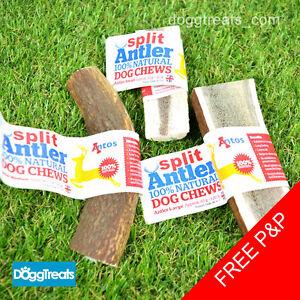 SPLIT-ANTLER-DOG-CHEWS-Antos-Small-Medium-Large-Stag-100-Natural-Calcium