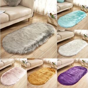 New-Anti-Skid-Soft-Fluffy-Rugs-Shaggy-Area-Rug-Bedroom-Carpet-Floor-Mat-Home