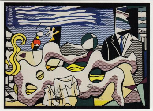 Reclining Nude Liegender Akt Roy Lichtenstein Kunstpostkarte Postcard