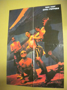 POSTER-RED-HOT-CHILI-PEPPERS-PAGE-FROM-MAGAZINE-CM-39x55