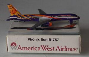 Schabak-Boeing-757-225-America-West-Airlines-Phoenix-Suns-2nd-Version-con-Reg