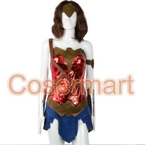 Dawn of Justice Cosplay Wonder Woman  Costume Outfit Full Set Batman v Superman
