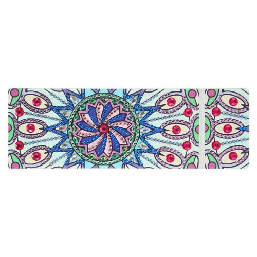 DIY Mandala Special Shaped Diamond Painting 2 Grids Pencil Storage Case Box Gift