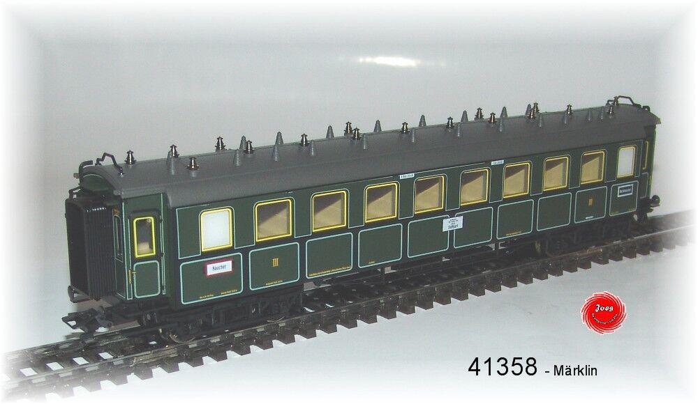41358 Vagone Treno Direttissimo Ccü 3. Classe Della K.Bay.sts.b.   Nuovo