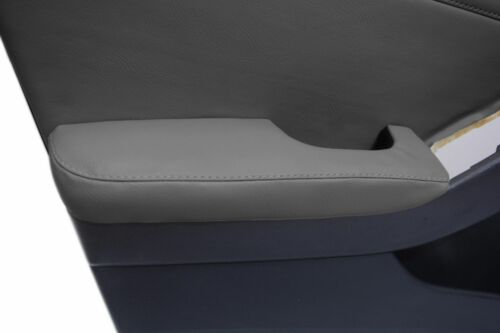 For Nissan Altima 07-12 Front Door Armrest Cover Synthetic Leather Gray